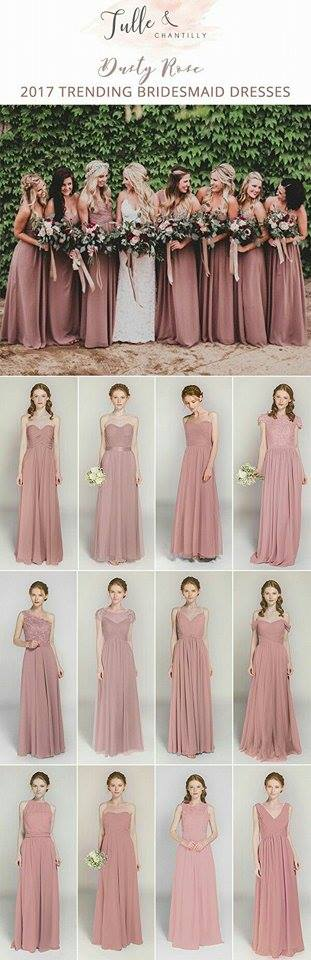 Gown Themes Your Bridesmaids Will