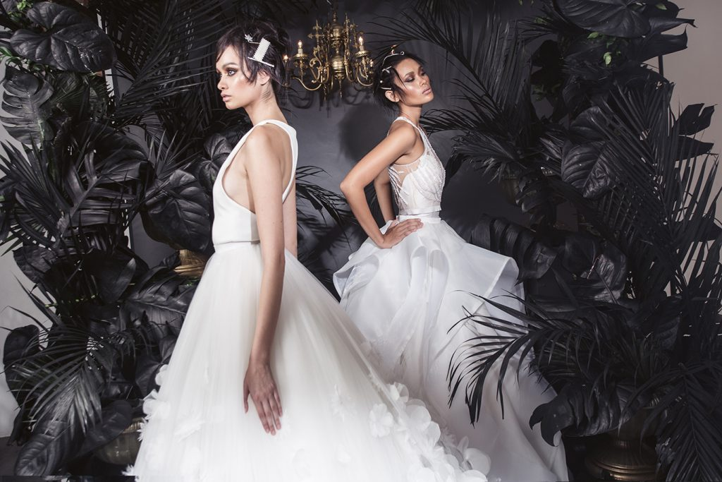Mara Chua Launches Her Latest Ready To Wear Bridal Collection,Blush Pink Ball Gown Wedding Dress